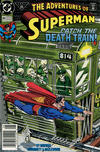 Cover Thumbnail for Adventures of Superman (1987 series) #481 [Newsstand]