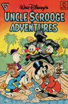 Cover for Walt Disney's Uncle Scrooge Adventures (Gladstone, 1987 series) #18 [Newsstand]