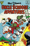 Cover for Walt Disney's Uncle Scrooge Adventures (Gladstone, 1987 series) #4 [Newsstand]