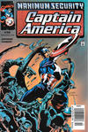 Cover Thumbnail for Captain America (1998 series) #36 [Newsstand]