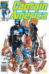 Cover for Captain America (Marvel, 1998 series) #20 [Newsstand]