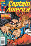Cover for Captain America (Marvel, 1998 series) #19 [Newsstand]