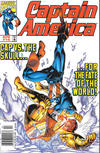 Cover for Captain America (Marvel, 1998 series) #16 [Newsstand]