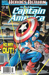 Cover for Captain America (Marvel, 1998 series) #2 [Newsstand]