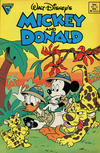 Cover for Walt Disney's Mickey and Donald (Gladstone, 1988 series) #10 [Newsstand]