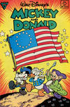 Cover for Walt Disney's Mickey and Donald (Gladstone, 1988 series) #14 [Newsstand]