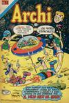 Cover for Archi Serie Avestruz (Editorial Novaro, 1975 series) #123