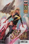 Cover for Doctor Strange (Marvel, 2018 series) #3 [Emanuela Lupacchino 'Carol Danvers 50th Anniversary']