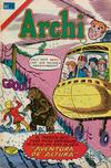 Cover for Archi Serie Avestruz (Editorial Novaro, 1975 series) #124