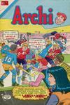 Cover for Archi Serie Avestruz (Editorial Novaro, 1975 series) #126