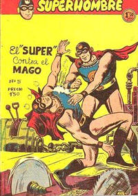 Cover Thumbnail for Super Hombre (Editorial Ferma, 1958 series) #5