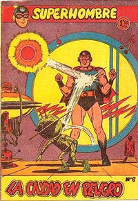 Cover Thumbnail for Super Hombre (Editorial Ferma, 1958 series) #6