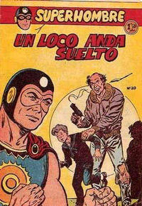 Cover Thumbnail for Super Hombre (Editorial Ferma, 1958 series) #20