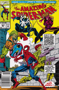 Cover Thumbnail for The Amazing Spider-Man (Marvel, 1963 series) #367 [Newsstand]