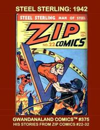 Cover Thumbnail for Gwandanaland Comics (Gwandanaland Comics, 2016 series) #375 - Steel Sterling: 1942
