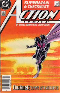 Cover Thumbnail for Action Comics (DC, 1938 series) #598 [Newsstand]