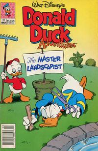 Cover Thumbnail for Walt Disney's Donald Duck Adventures (Disney, 1990 series) #22 [Newsstand]