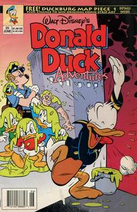 Cover Thumbnail for Walt Disney's Donald Duck Adventures (Disney, 1990 series) #25 [Newsstand]