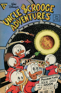 Cover Thumbnail for Walt Disney's Uncle Scrooge Adventures (Gladstone, 1987 series) #13 [Newsstand]