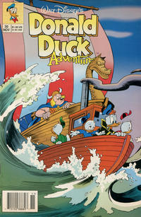 Cover Thumbnail for Walt Disney's Donald Duck Adventures (Disney, 1990 series) #30 [Newsstand]