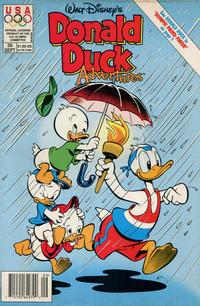Cover Thumbnail for Walt Disney's Donald Duck Adventures (Disney, 1990 series) #28 [Newsstand]