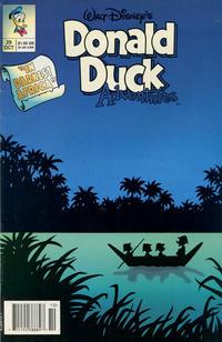 Cover Thumbnail for Walt Disney's Donald Duck Adventures (Disney, 1990 series) #29 [Newsstand]