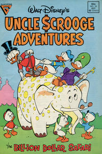 Cover Thumbnail for Walt Disney's Uncle Scrooge Adventures (Gladstone, 1987 series) #16 [Newsstand]