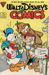 Cover Thumbnail for Walt Disney's Comics and Stories (Gladstone, 1986 series) #526 [Newsstand]