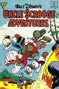 Cover Thumbnail for Walt Disney's Uncle Scrooge Adventures (Gladstone, 1987 series) #4 [Newsstand]