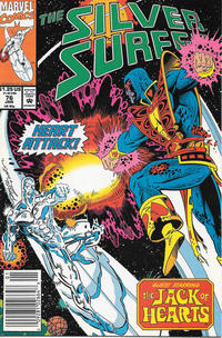 Cover Thumbnail for Silver Surfer (Marvel, 1987 series) #76 [Newsstand]