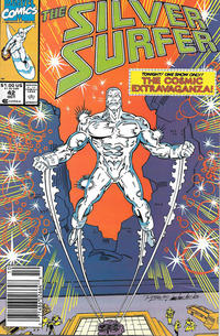 Cover Thumbnail for Silver Surfer (Marvel, 1987 series) #42 [Newsstand]
