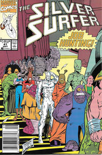 Cover Thumbnail for Silver Surfer (Marvel, 1987 series) #41 [Newsstand]