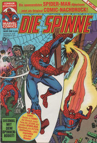 Cover Thumbnail for Die Spinne (Condor, 1987 series) #21
