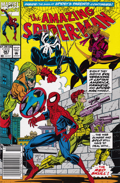Cover for The Amazing Spider-Man (Marvel, 1963 series) #367 [Direct]