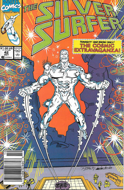 Cover for Silver Surfer (Marvel, 1987 series) #42 [Newsstand]