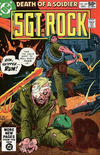 Cover for Sgt. Rock (DC, 1977 series) #347 [Direct]