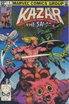 Cover Thumbnail for Ka-Zar the Savage (1981 series) #3 [British]
