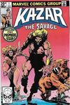 Cover Thumbnail for Ka-Zar the Savage (1981 series) #1 [British]