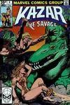 Cover for Ka-Zar the Savage (Marvel, 1981 series) #4 [British]