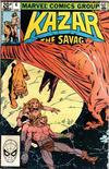Cover for Ka-Zar the Savage (Marvel, 1981 series) #6 [British]