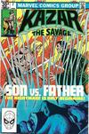 Cover for Ka-Zar the Savage (Marvel, 1981 series) #7 [British]