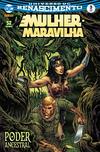 Cover for Mulher-Maravilha (Panini Brasil, 2017 series) #3