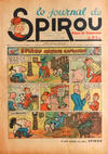 Cover for Le Journal de Spirou (Dupuis, 1938 series) #8/1938