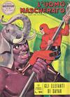Cover for L'Uomo Mascherato [Avventure americane] (Edizioni Fratelli Spada, 1962 series) #37