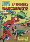 Cover for L'Uomo Mascherato [Avventure americane] (Edizioni Fratelli Spada, 1962 series) #25