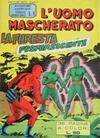 Cover for L'Uomo Mascherato [Avventure americane] (Edizioni Fratelli Spada, 1962 series) #8