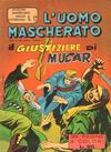 Cover for L'Uomo Mascherato [Avventure americane] (Edizioni Fratelli Spada, 1962 series) #12