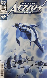 Cover Thumbnail for Action Comics (DC, 2011 series) #1004 [Steve Rude Foil Cover]