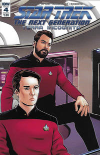 Cover Thumbnail for Star Trek: The Next Generation: Terra Incognita (IDW, 2018 series) #4 [Cover A]
