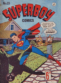 Cover Thumbnail for Superboy (K. G. Murray, 1949 series) #13